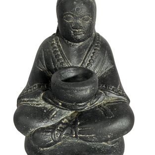 Monk with Bowl Front