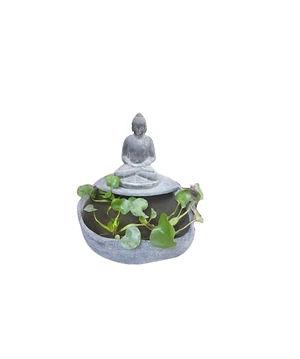 TA Pic_Sitting Buddha Planter_Concrete_C