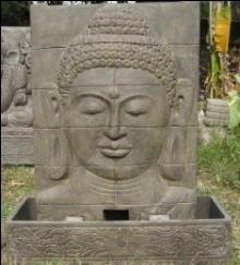 Buddha Relief Fountain Option 2