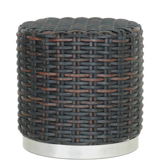 81.10572 BIMA STOOL -Synthetic Weave Bla