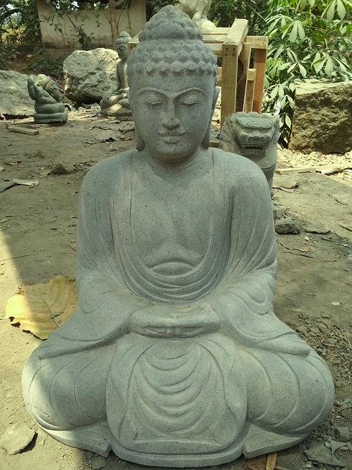 Japanese Sitting Buddha (Greenstone)