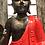Thumbnail: Teak Sitting Buddha (Red)