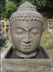 Buddha Head Fountain Option 1