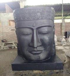 Buddha Head Fountain Option 3