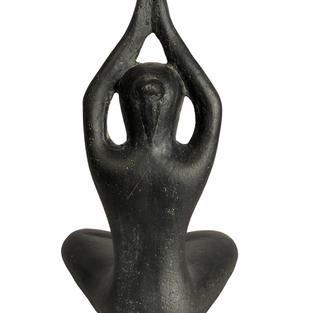 Yoga Pose Arms High Back