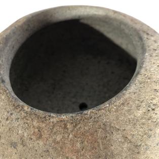 Riverstone Pot Detail