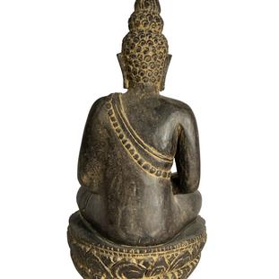 Thai Sitting Buddha Back
