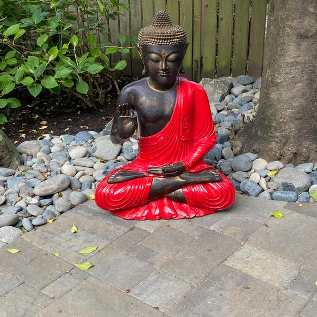 Teak Buddha