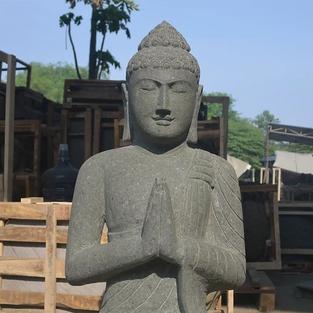 Greenstone Natural Sitting Buddha