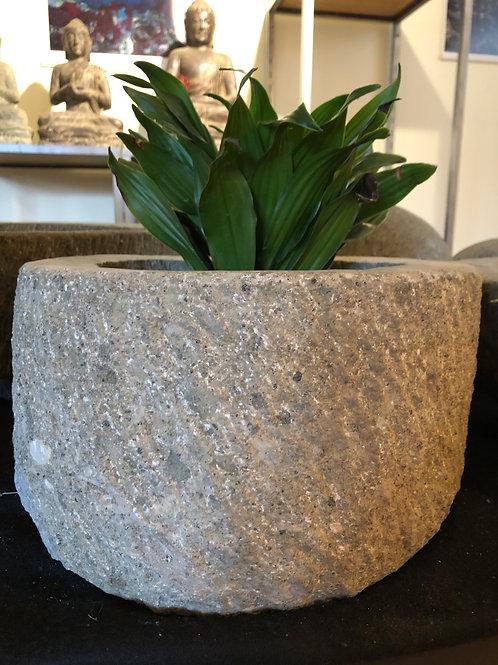 Round Planter (Greenstone)