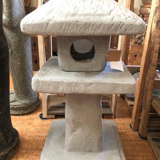 Stone Cast Japanese Lantern
