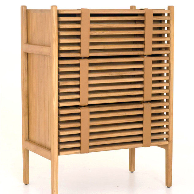 07.18479 VOLET DRAWERS WITH TEAK WOOD -O