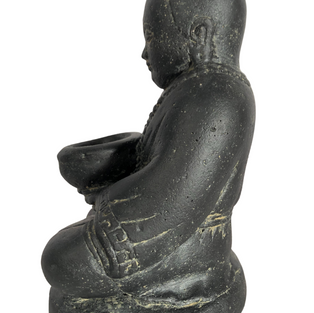 Monk with Bowl Side