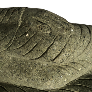 Lying Budda Robe Detail