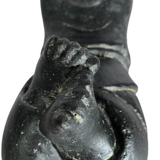 Lying Monk Feet Detail