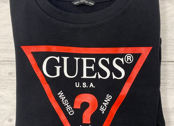 GUESS Black and Red Sweatshirt