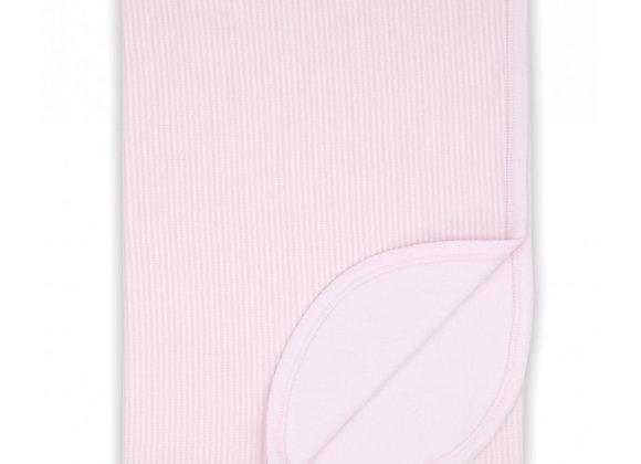 Rapife Pink Stripe Blanket
