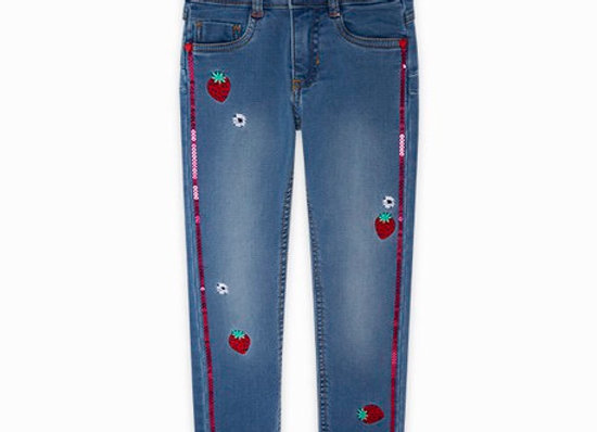 Tuc Tuc Girls Strawberry Denim Jeans