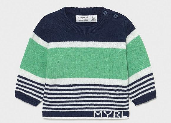 Mayoral Baby Boy Stripe Jumper