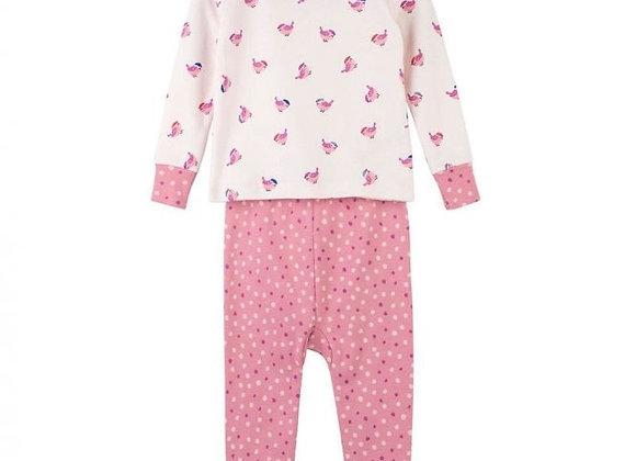 Hatley baby girl bird pyjamas
