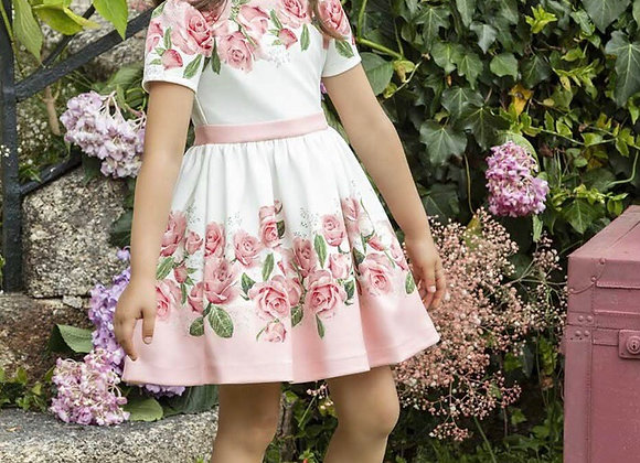 Patachou Girls Floral Pink Dress