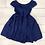 Thumbnail: Kate Mack Navy Bow Dress