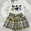 Thumbnail: Mayoral girl bow top and shorts set