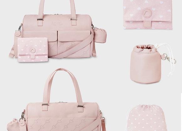 Mayoral pink change bag set