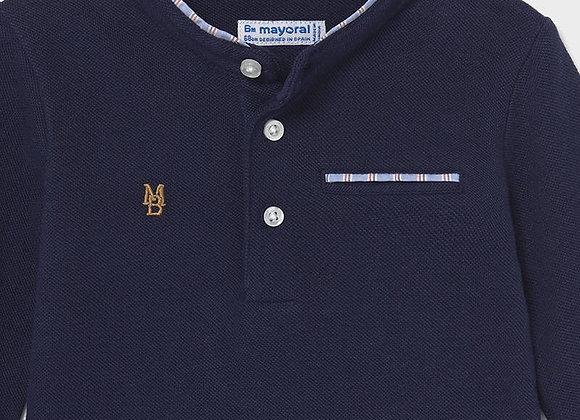 Mayoral Baby boy Grandad Collar Polo