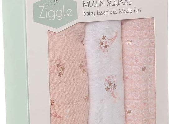 Ziggle Rose Gold Muslins
