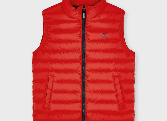 Mayoral boys red padded gilet