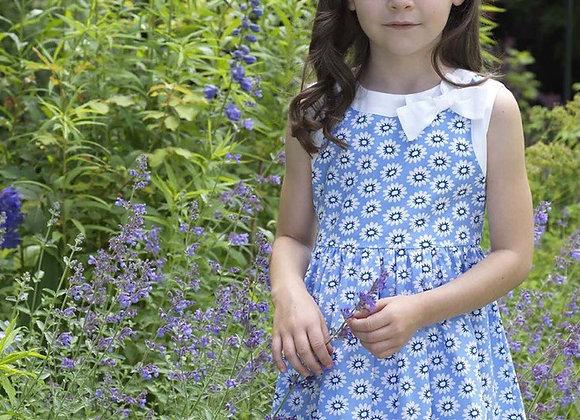 Rachel Riley blue flower dress