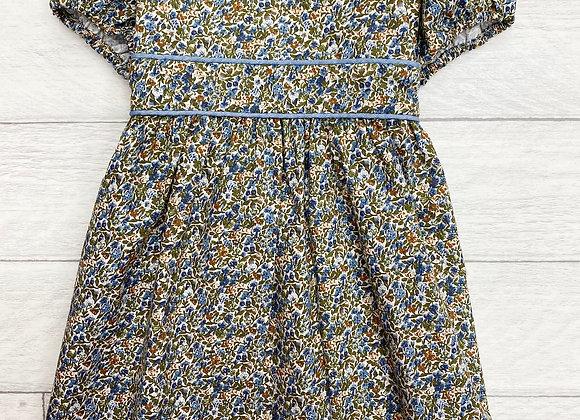 Cairenn Foy Blue Ditsy Dress