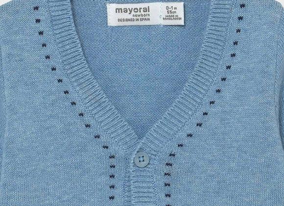 Mayoral baby boy cardigan