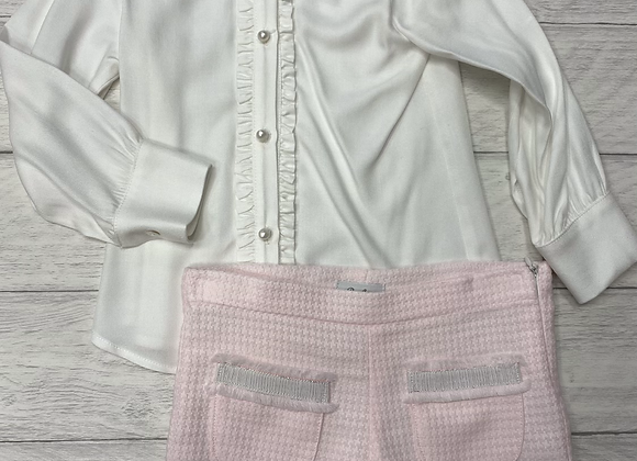 Rochy Blouse and Shorts Set