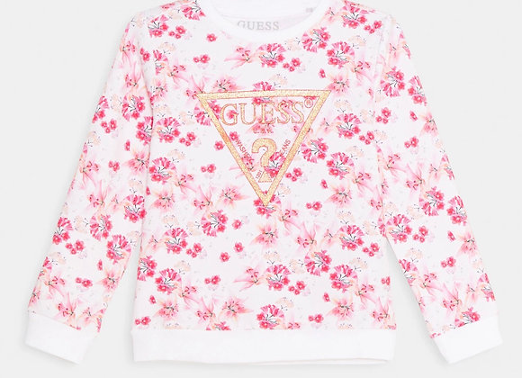 Guess Girls Floral Sweatshirt