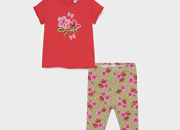 Mayoral baby girls two piece set