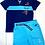 Thumbnail: Terre de Marins boys t-shirt and shirt set