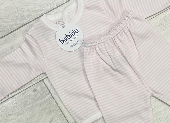 Babidu Rosie stripe two piece set