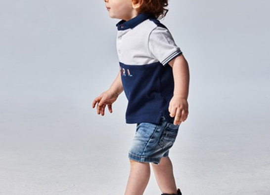 Mayoral baby boy aqua t-shirt