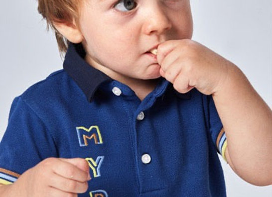 Mayoral baby boy polo t-shirt