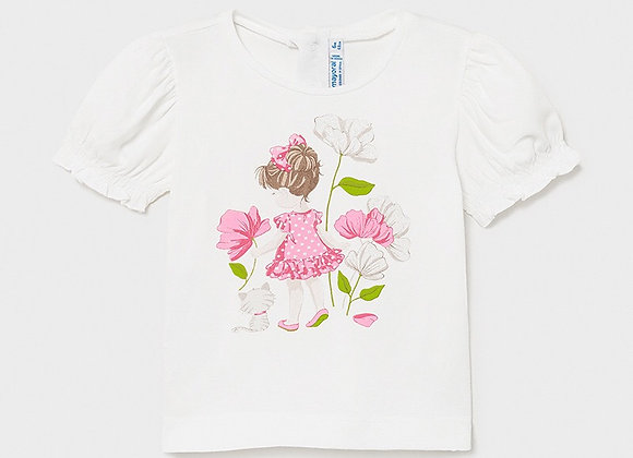 Mayoral baby girls ECOFRIENDS appliqué t-shirt
