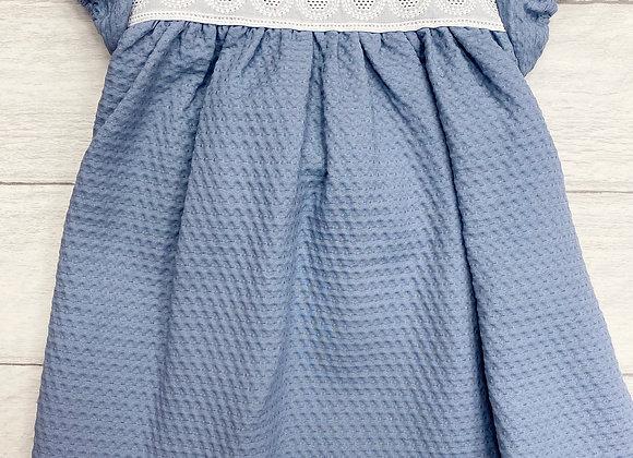 Cairenn Foy Blue Peter Pan Dress