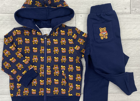 Guess baby boy teddy tracksuit