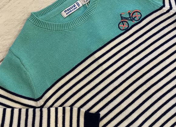 Mayoral baby boy aqua breton jumper