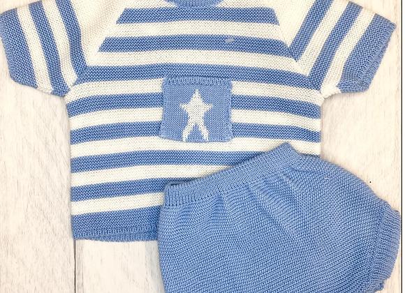 Popys Finn boys knit two piece