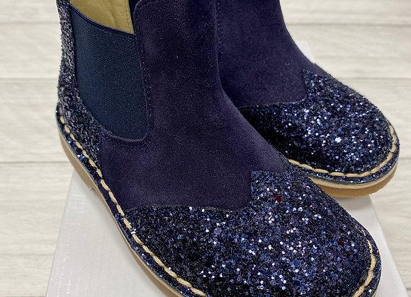 Rochy Navy Chelsea Glitter Boot