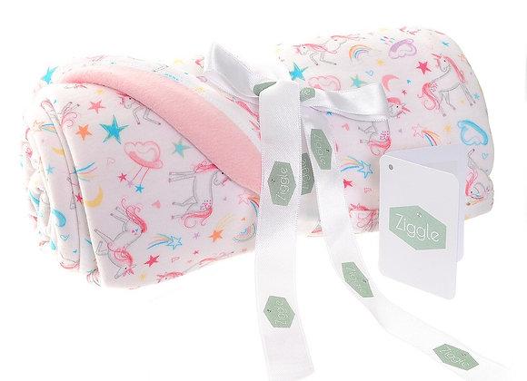 Ziggle LilyBelle Unicorn Blanket By Katie Phythian