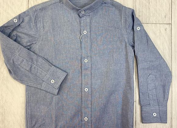 Dr Kid Sam Grandad collar shirt