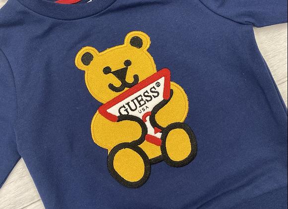 Guess baby boy teddy sweatshirt